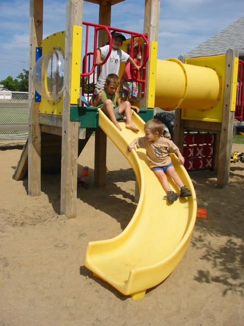 school-yard-slide